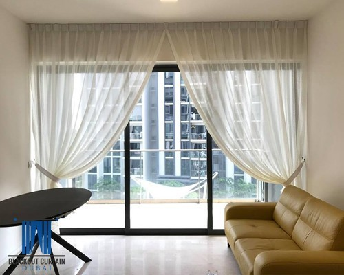 Sheer Curtains in Dubai