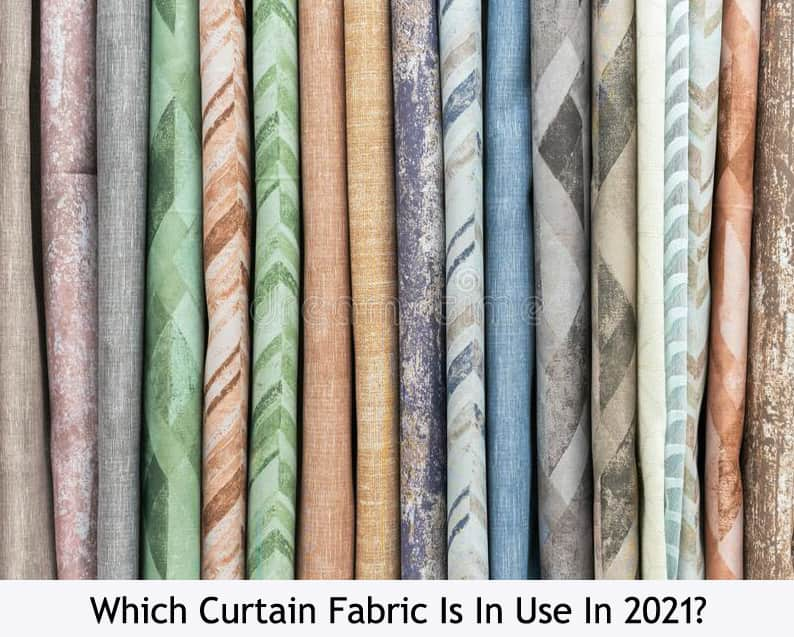 Which Curtain Fabric Is In Use In 2021
