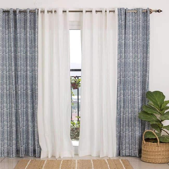 Stylish Cotton Curtains in Dubai