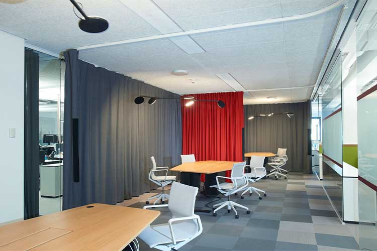 Trendy Office Curtains Dubai